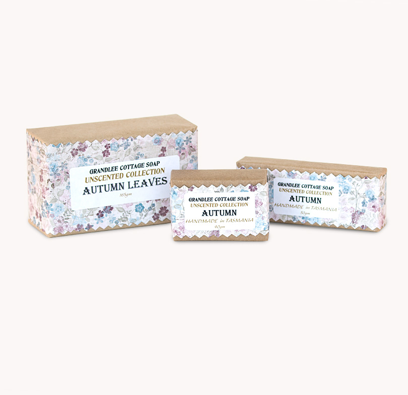 autumn handmade natural soap Tasmania