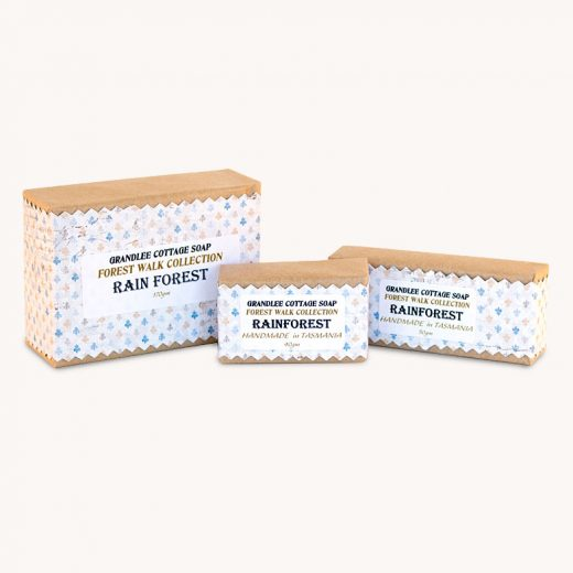 rainforest handmade natural soap Tasmania