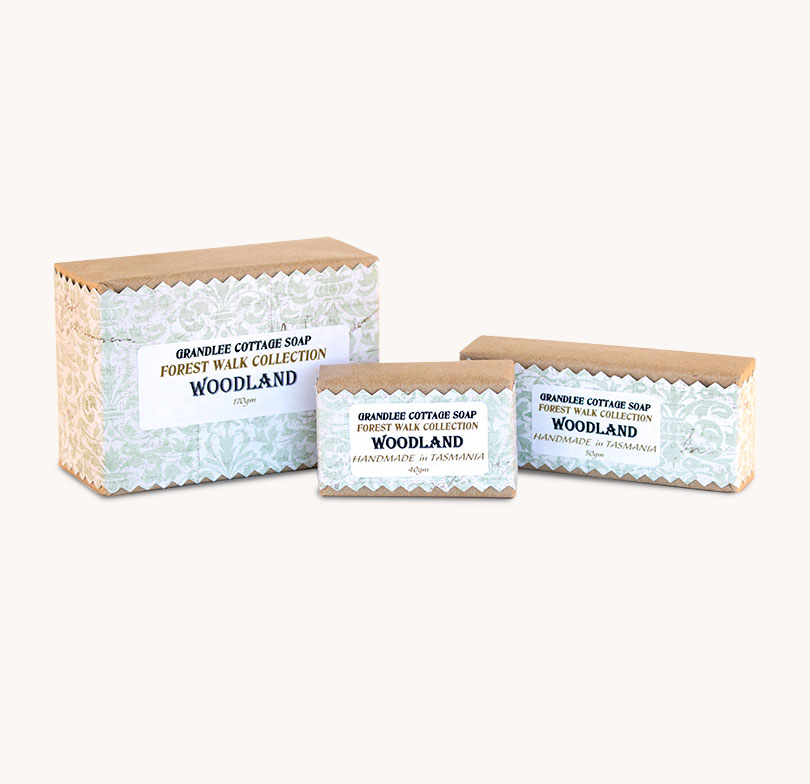 woodland handmade natural soap tasmania