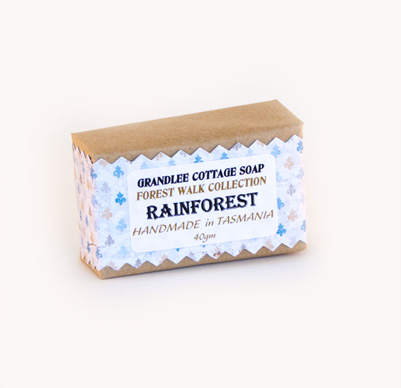 rainforest handmade natural soap Tasmania