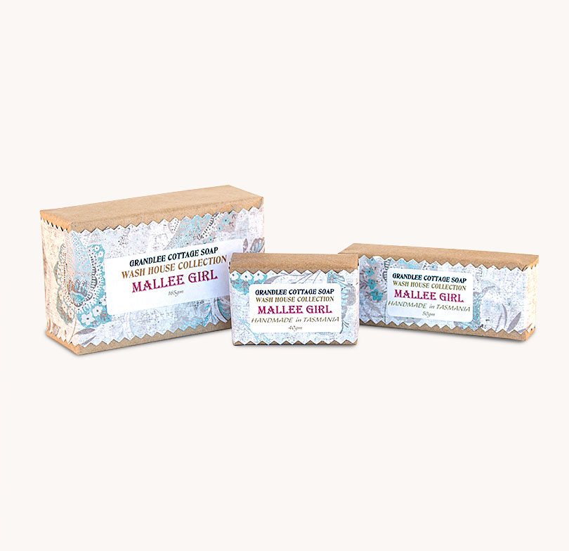 mallee girl handmade natural soap Tasmania