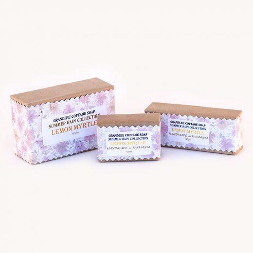 lemon myrtle handmade natural soap Tasmania