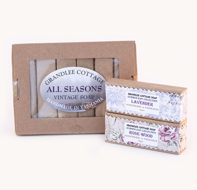 all seasons vintage handmade natural soap Tasmania