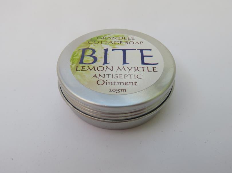 Bite Lemon Myrtle Antiseptic Ointment Natural Handmade Tasmania