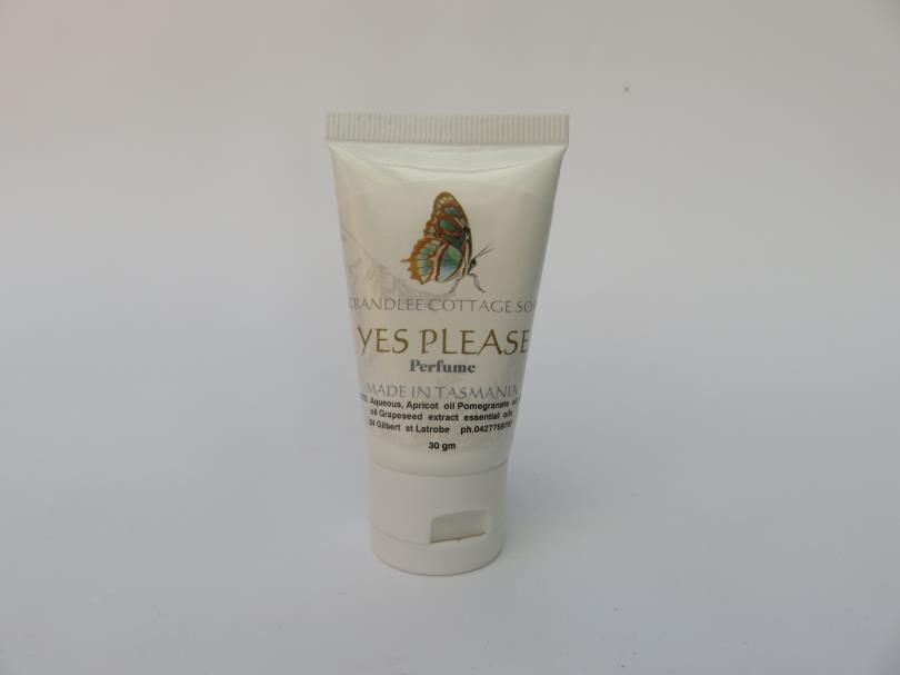 Yes Please Perfume Cream Natural Handmade Tasmania