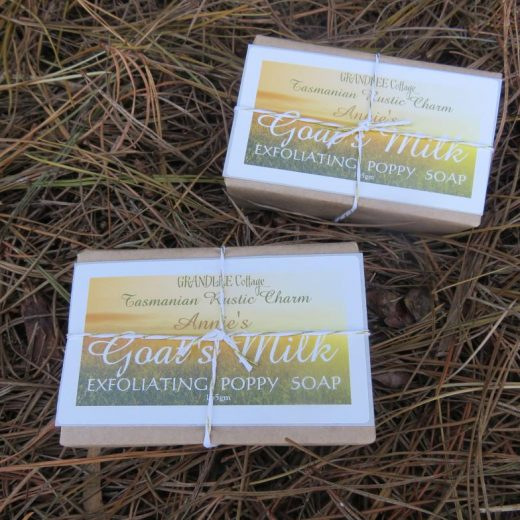 Goats Milk Exfoliating Poppy Soap