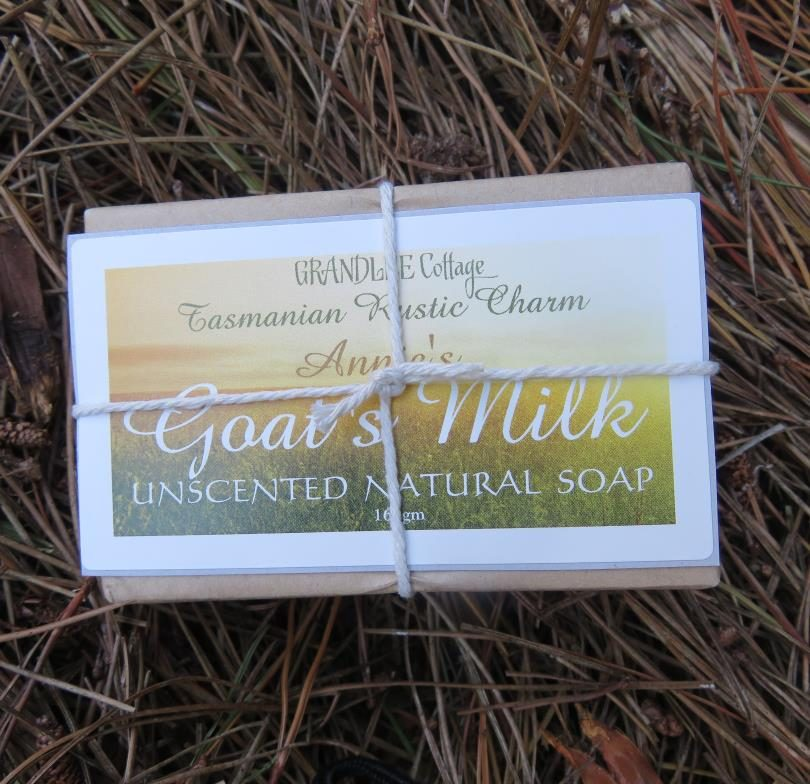 Goats Milk Unscented Natural Soap 165 gm