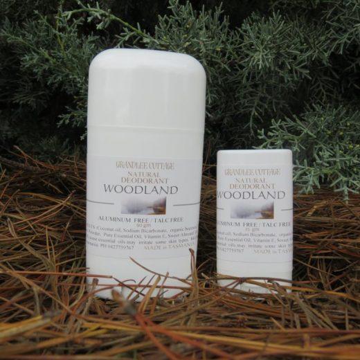 Woodland Aluminium Free Deodorant natural Handmade Tasmania