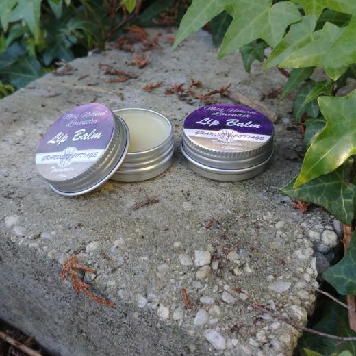 Lavender Lip Balm natural Handmade Tasmania