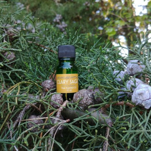 pure essential oils clary sage 10ml